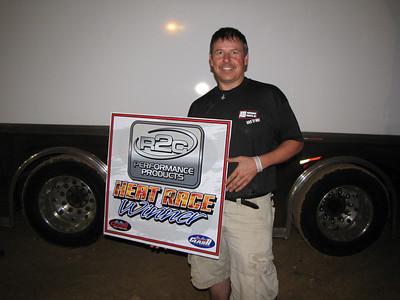 JEFF SMITH...heat race winner