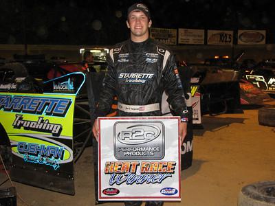 Chris Ferguson...heat race winner