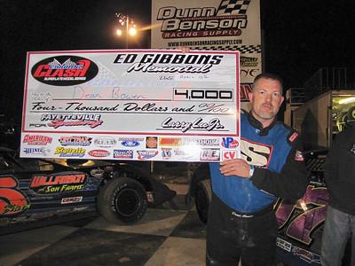 race 3.....Dean Bowen, Fayetteville Apr 10
