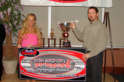 SCOTT NEIGHBORS was the Clash Rookie of the Year