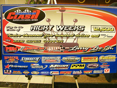 Ricky Weeks won his fifth Clash Championship!