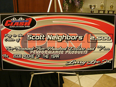 Scott Neighbors won a close battle for Rookie of the Year