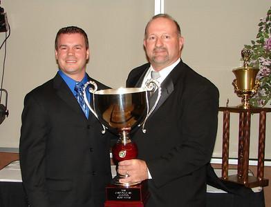 Carolina Clash Series Director CLINT ELKINS and 2008 Champion RICKY WEEKS
