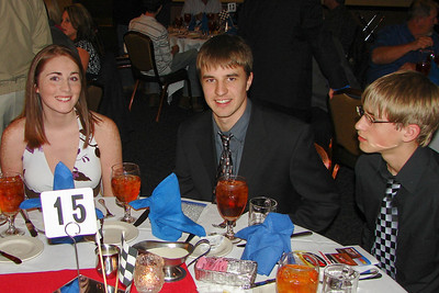 Looks like prom night.  Brent Robinson was the Carolina Clash Rookie of the Year for 2007.