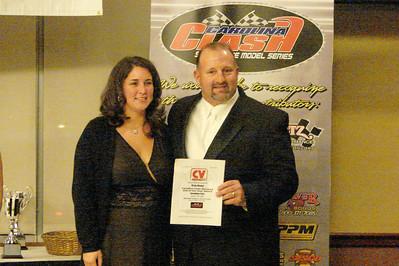 Rocky gets an award from CV