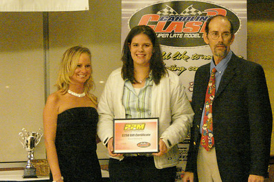 PBM sends their award to Amanda Beaver with Beaver Bail Bonds racing