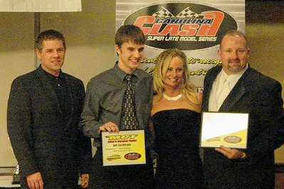 The receive awards from Hendren  racing