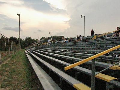 metal grandstands