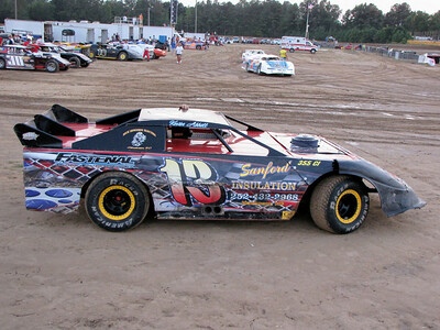 #13 Brian Strickland,  late model