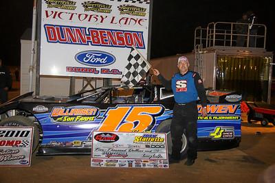 Dean Bowen won the Carolina Clash race
