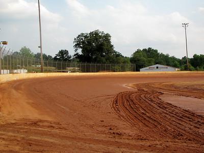 track had good water