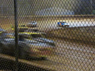 Video---- car misses turn 2