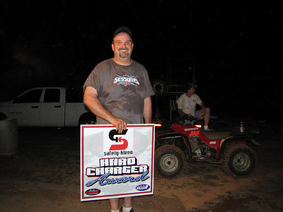 Jay Sessoms: hard charger award