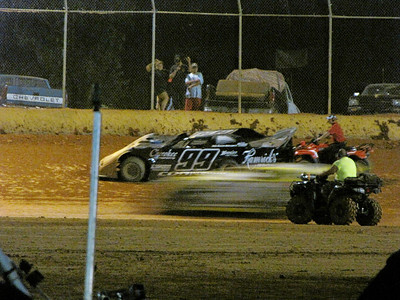 #99 Jeff Cook drops out