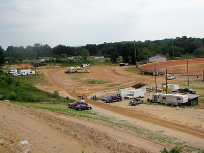 pit area, from Red Neck Hill