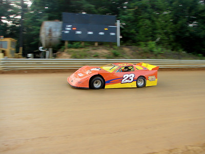 #23 Ronnie Hoover finished 9th