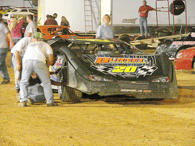 Dan Breuer had lots of problems doing the race