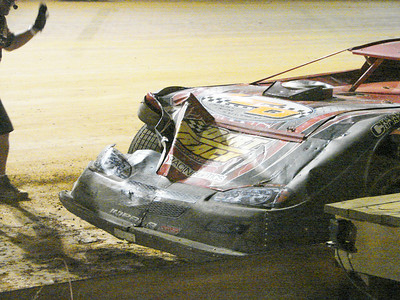 Tim Allen hit a very loose Ryan Gifford, and still finished 5th