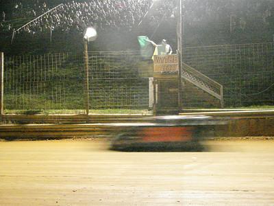 the nights racing begins