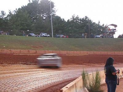 VIDEO -- cars slide in turn 1