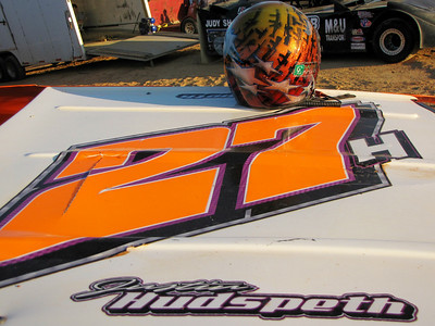 #27H Justin Hudspeth won his feature event tonight