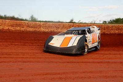 Chris Cantrell was 3rd in the crate race