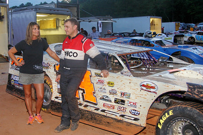 Chris Cantrell has a win and 2nd place in three races at I-77