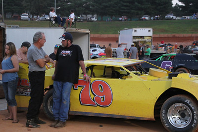 Billy Hicks and Doug Sanders...about 200 years of racing experience.