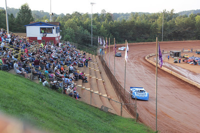 we are at Friendship Speedway near Elkin, NC