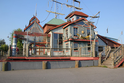 """This """"Pirate Ship"""" Restaurant is on the corner of I-77 and exit 85. This is the exit you take to get to Friendship Speedway. And I HIGHLY recommend getting here early and stopping at this restaurant before going to the track...which is only a mile or two away."""