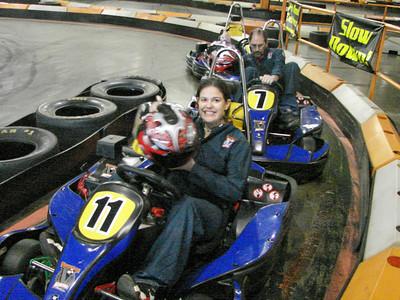 Amanda Beaver gets to race .