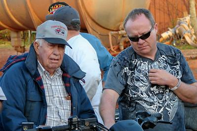 Mr Jack Starrettt and driver Randell Chupp