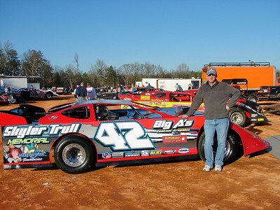 Larry Trull, Skyler's father with the memorial car