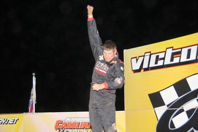 heat winner Kyle Strickler