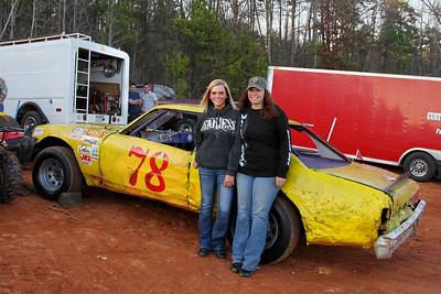 #78 Brandon White's all girl pit crew