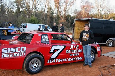 Patrick Lyons runs the #7 Watson car