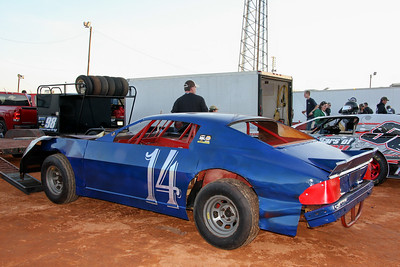 #14 street stock Mike Emerson