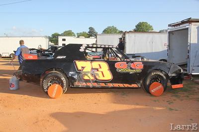 Colt Gilliam won the last three races in SECA Thunder Sportsman class