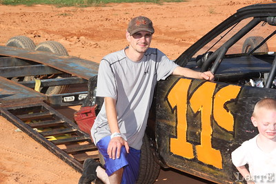 this is Carpenter's first race at Carolina this year