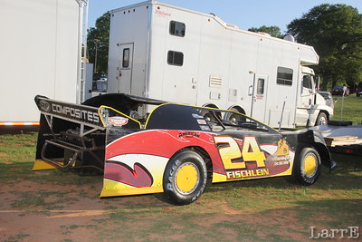 Limited Late Model #24 Carter Fischlein