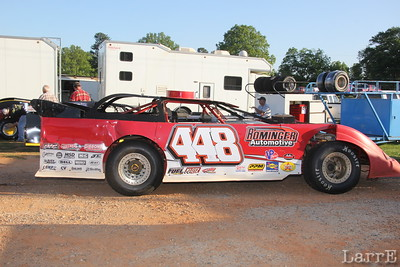 #44 is Kenny Rominger in Limited Late Model class