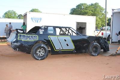 #18 Ricky Green races in SECA Thunder Spoertsman class