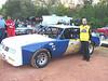 the #28 street stock car of Cory Davis