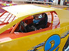 #2 crate car and Jesse Brown