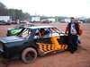 """Th """"backward 7"""" car of Brian Nuhfer. I can't wait to see the other side and see if the 7 is facing the right way."""