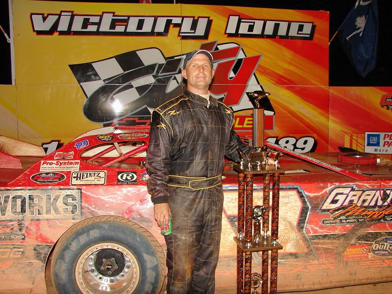 TIM ALLEN wins the 36th annual Carolina Shrine race!
