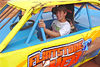 """I saw this kid help unload Mike Duvalls renegade car. Thought I'd make him happy and take his picture in a real race car. Asked his name so I could give him credit in this caption. He said, """" Jonathan...Duvall."""""""