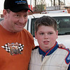 Ken Schrader and Jacob Harrell