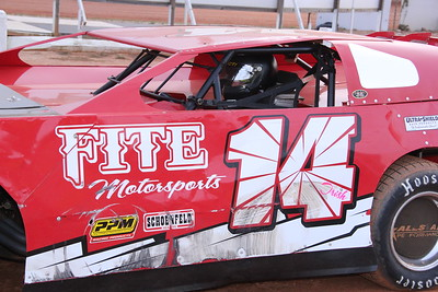 #14 Chris Fite was 13th