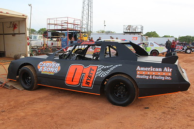 Tyler Hyatt won the first two races this year but was only 12th tonight